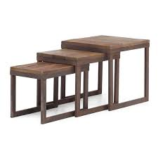 wood nesting coffee table civic center nesting tables moss manor a design house