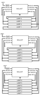 how to wire a 2 l ballast t5 2 ballast wiring diagram 4 l wiring diagrams schematics