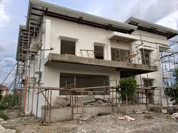 Two Storey Residential Floor Plan Westwood Subd House Construction Project In Mandurriao Iloilo