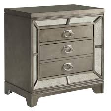 nightstand exquisite airplane metal nightstand and wood glass