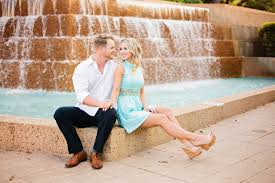 fort worth photographers fort worth water gardens engagement session swan photography www