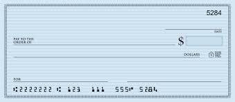 70 blank check template vector illustration blank bank check