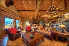 log home interior designs cabin interior design blends form and function