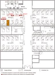 floor plan of hospital floor plan of the hospital ward during the ward 8 sars outbreak in
