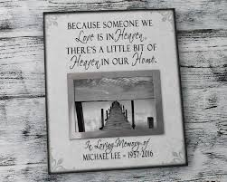 remembrance picture frame bereavement picture frame condolence personalized photo frame