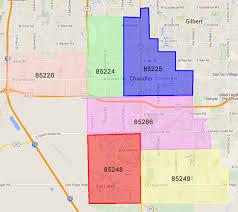 map of chandler az chandler az zipcode map az estate 480 721 6253