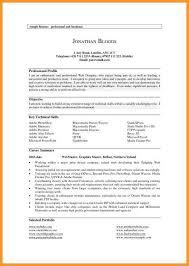 Profile In Resume Career Profile Resume Cbshow Co