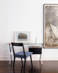 risom side chair and albini desk office home offices to swoon