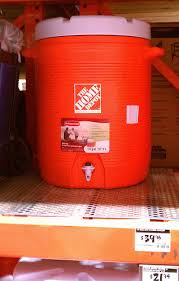 Rubbermaid The Home Depot 10 Gal Rubbermaid Cooler 40 Home Depot Home Brew Forums