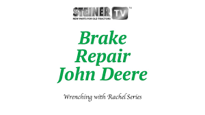 brakes on john deere youtube
