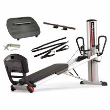 total gym power tower incline trainer essentials package