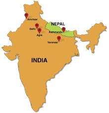 map of nepal and india kundalini journey in india nepal march 2015 retreatours