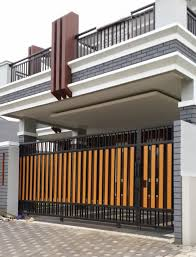 pagar minimalis modern my garden pinterest modern gates and
