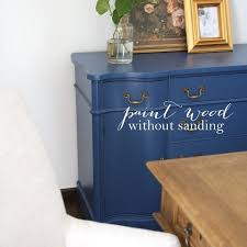 can chalk paint be used without sanding paint without sanding for furniture cabinets trim