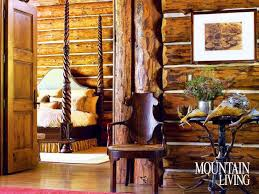 interior design mountain homes mountain home interiors integrating trees and branches in interior