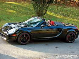 toyota mr2 2004 toyota mr2 spyder information and photos zombiedrive