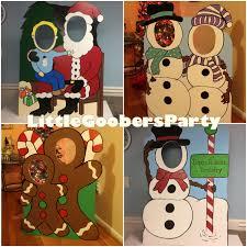 custom winter wonderland photo booth prop foam board santa