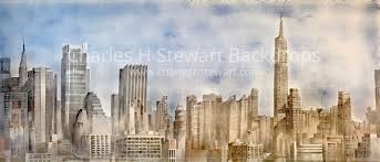 backdrop city daytime new york skyline backdrop backdrops by charles h stewart