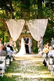 wedding backdrop garden outdoor weddings the marulan general store