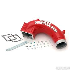 Dodge Ram Cummins Straight Pipe - banks power 42765 monster ram intake elbow 03 07 dodge ram