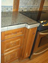 wonderful granite tile countertop decorating ideas for kitchen