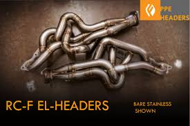 lexus rc f exhaust rc f equal length headers