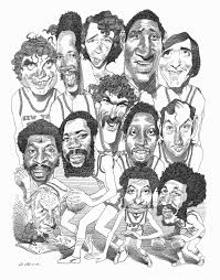 new york review of books caricatures d levine ink