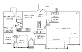 ranch style floor plans with basement house plan 45 ranch house plans with basement ideas high