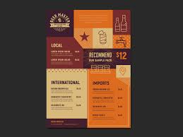 indian menu template free craft menu template for photoshop illustrator brandpacks
