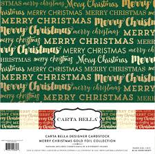 collections echo park paper co merry gold foil