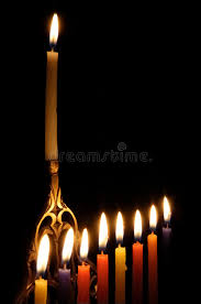 chanuka candles chanuka candles stock image image of eight light hebrew 3678057