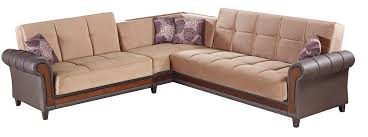 Living Room Furniture Long Island by Long Island Brown Fabric Sectional Sofa By Empire Furniture Usa