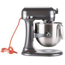 Kitchenaid Mixers On Sale by Pewter Kitchenaid 8 Qt Commercial Mixer Ksm8990dp Webstaurantstore