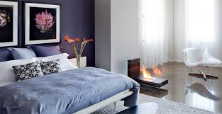fireplace for bedroom 20 double sided fireplace in the bedroom home design lover