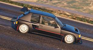 renault 5 tuning peugeot 205 turbo 16 add on tuning livery gta5 mods com