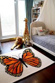 butterfly area rugs furniture lighting designlittle u0027s room area rug u2014 lucy tupu