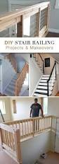How To Build A Banister For Stairs Best 25 Stair Railing Ideas On Pinterest Banister Remodel