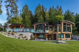 Vancouver Home Decor Energy Efficient Luxury Ocean View Home On Vancouver Island