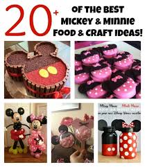 easy minnie mickey mouse treats kitchen fun 3 sons