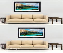 how to hang a painting centering art relative to furniture versus the wall utr déco blog