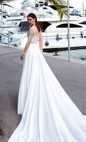 on trend illusion back wedding gowns u2013 the blushing bride boutique