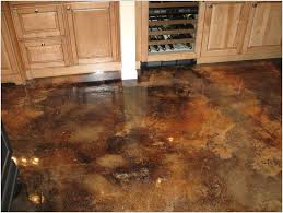 Concrete Staining Pictures by Concrete Floor Stain Stained Concrete Floors Basement Concrete