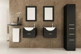 Wall Mount Sinks For Small Bathrooms Sleek Black Wooden Wardrobe Black Wooden Wall Mounted Shelf Black