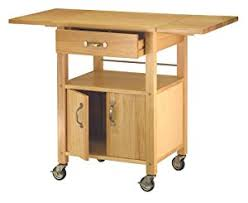 kitchen islands with drop leaf amazon com winsome wood drop leaf kitchen cart bar serving carts