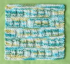 25 different free patterns for knit dishcloths knitting