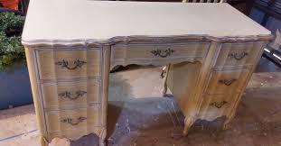 french provincial desk makeover hometalk