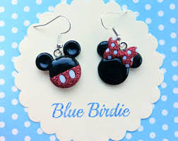 minnie mouse earrings minnie mouse earring etsy