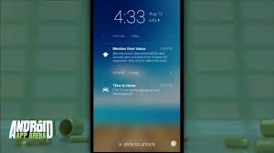 android lock screen notifications android app arena 8 lockscreen notifications