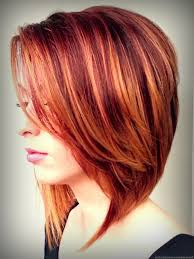 blonde highlights red hair burgundy hair colors with blonde