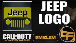 call of duty jeep emblem cod advanced warfare emblem tutorial 82 jeep logo youtube